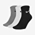 NIKE U EVERYDAY LTWT ANKLE 3PR